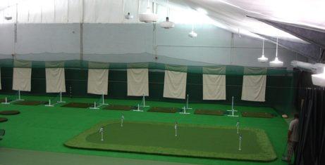 Indoor Golf Practice Facility
