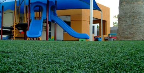 Beautiful, Maintenance-Free, and Safe Play Area