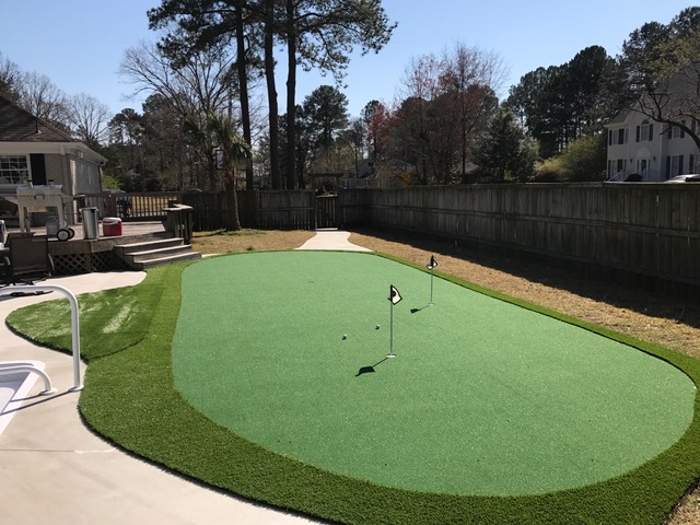 Synthetic Green Install
