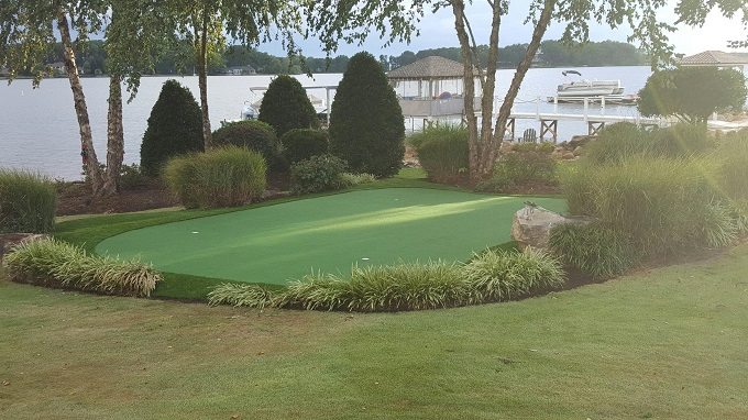 Putting Green and Landscaping